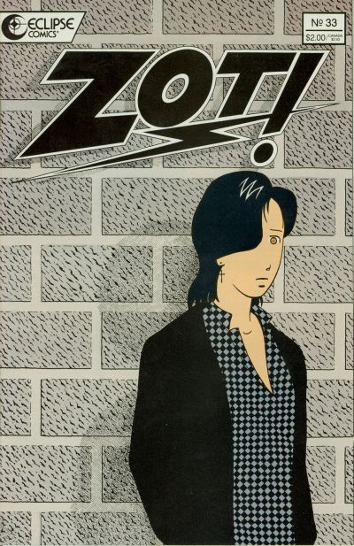 Cover for Zot! (Eclipse, 1984 series) #33