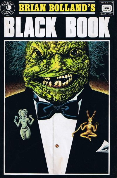 Cover for Brian Bolland's Black Book (Eclipse; Quality, 1985 series) #1