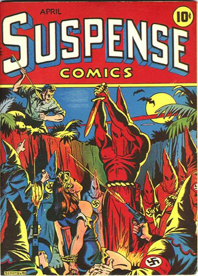 Cover for Suspense Comics (Temerson / Helnit / Continental, 1943 series) #3