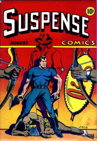 Cover for Suspense Comics (Temerson / Helnit / Continental, 1943 series) #5