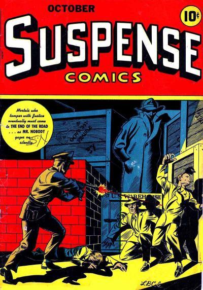 Cover for Suspense Comics (Temerson / Helnit / Continental, 1943 series) #6