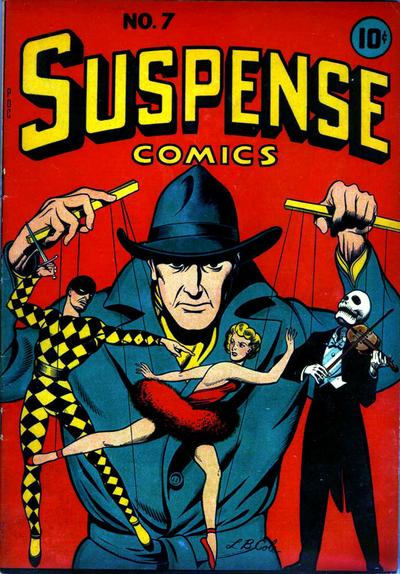 Cover for Suspense Comics (Temerson / Helnit / Continental, 1943 series) #7