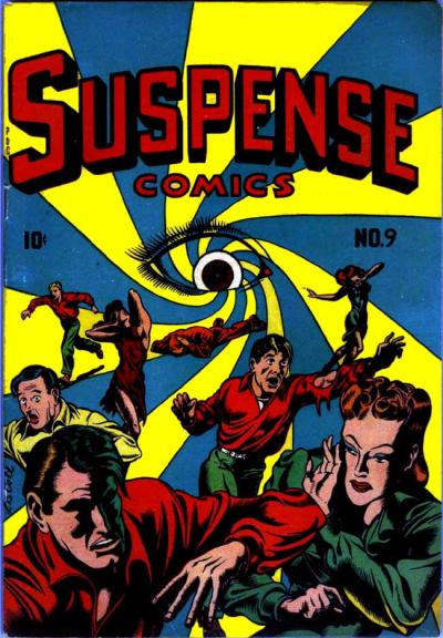 Cover for Suspense Comics (Temerson / Helnit / Continental, 1943 series) #9