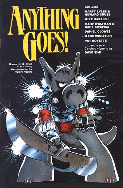 Cover for Anything Goes! (Fantagraphics, 1986 series) #3
