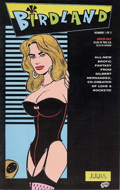 Cover for Birdland (Fantagraphics, 1990 series) #1