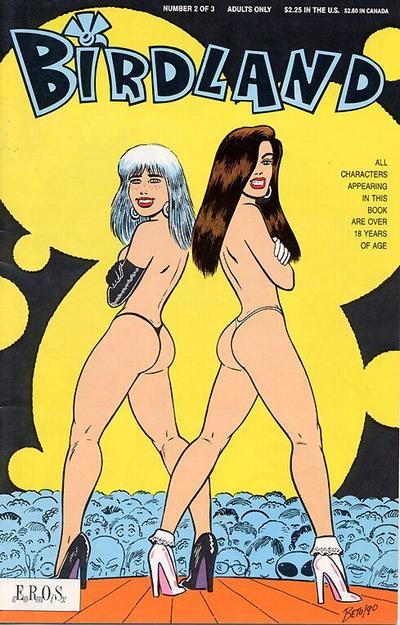Cover for Birdland (Fantagraphics, 1990 series) #2