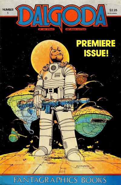 Cover for Dalgoda (Fantagraphics, 1984 series) #1