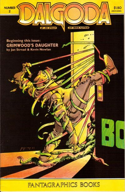 Cover for Dalgoda (Fantagraphics, 1984 series) #2