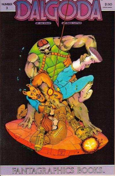 Cover for Dalgoda (Fantagraphics, 1984 series) #3