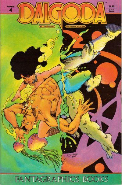 Cover for Dalgoda (Fantagraphics, 1984 series) #4