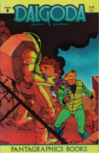 Cover for Dalgoda (Fantagraphics, 1984 series) #6