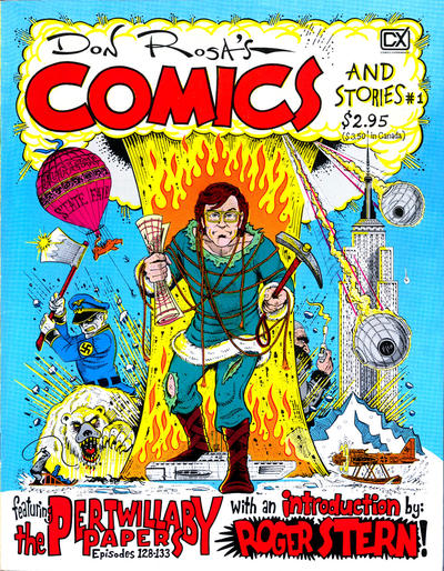 Cover for Don Rosa's Comics and Stories (Fantagraphics, 1983 series) #1