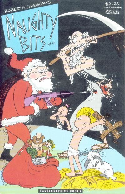 Cover for Naughty Bits (Fantagraphics, 1991 series) #4