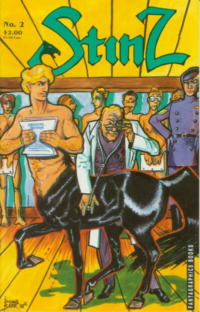 Cover for Stinz (Fantagraphics, 1989 series) #2