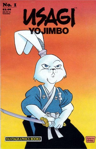 Cover for Usagi Yojimbo (Fantagraphics, 1987 series) #1