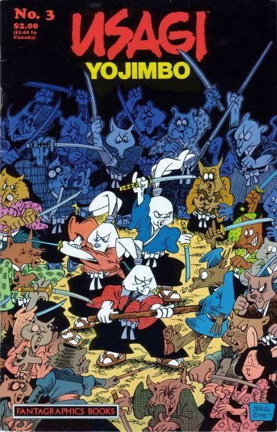 Cover for Usagi Yojimbo (Fantagraphics, 1987 series) #3