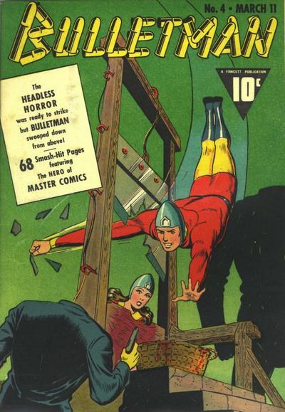Cover for Bulletman (Fawcett, 1941 series) #4