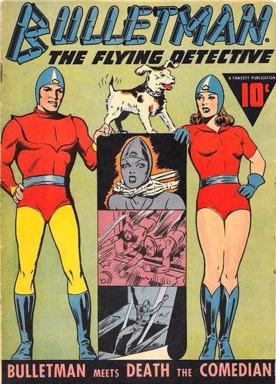 Cover for Bulletman (Fawcett, 1941 series) #14