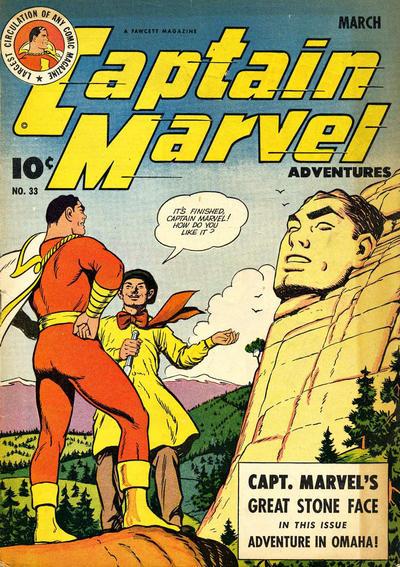Cover for Captain Marvel Adventures (Fawcett, 1941 series) #33