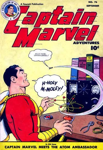 Cover for Captain Marvel Adventures (Fawcett, 1941 series) #76