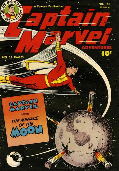 Cover for Captain Marvel Adventures (Fawcett, 1941 series) #106