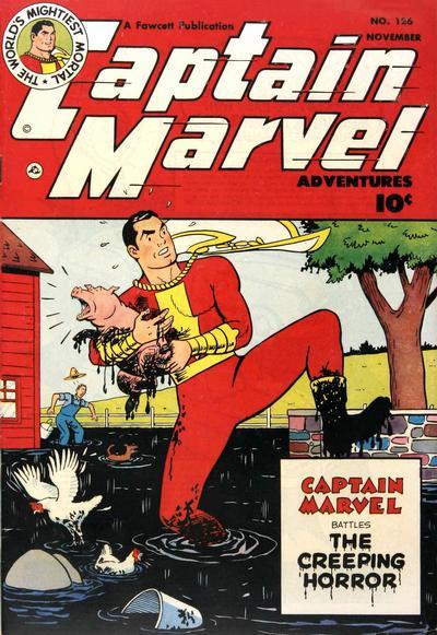 Cover for Captain Marvel Adventures (Fawcett, 1941 series) #126
