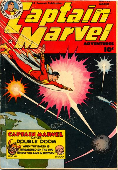 Cover for Captain Marvel Adventures (Fawcett, 1941 series) #130