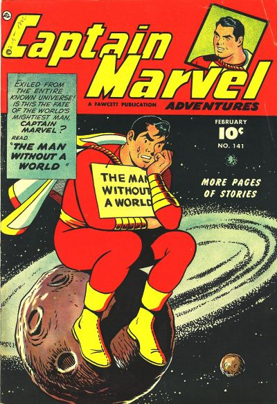 Cover for Captain Marvel Adventures (Fawcett, 1941 series) #141