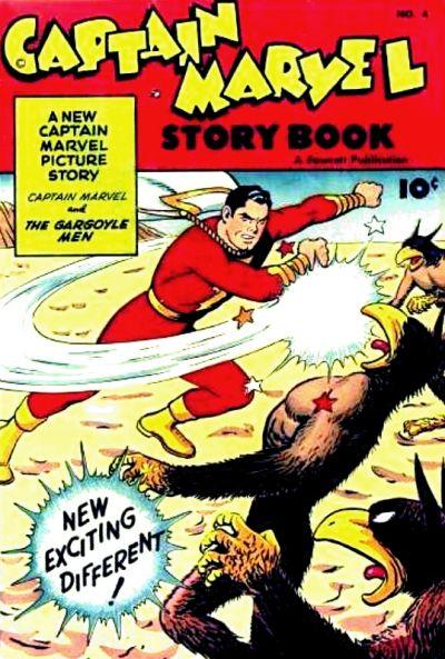 Cover for Captain Marvel Story Book (Fawcett, 1946 series) #4