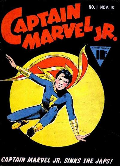 Cover for Captain Marvel Jr. (Fawcett, 1942 series) #1