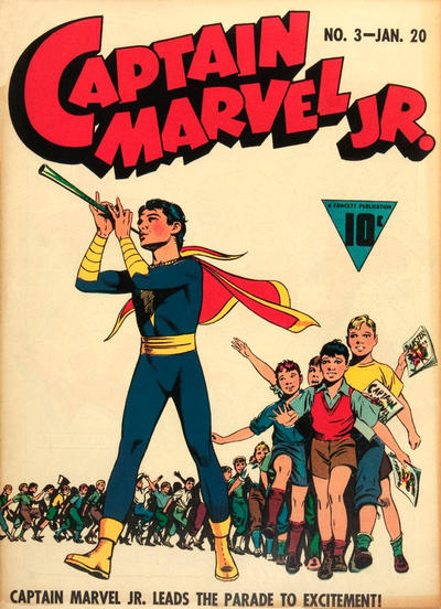 Cover for Captain Marvel Jr. (Fawcett, 1942 series) #3