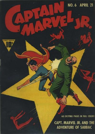 Cover for Captain Marvel Jr. (Fawcett, 1942 series) #6