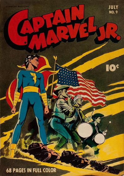 Cover for Captain Marvel Jr. (Fawcett, 1942 series) #9