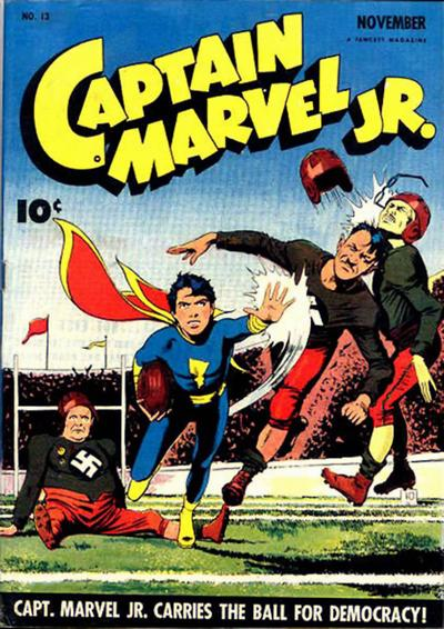 Cover for Captain Marvel Jr. (Fawcett, 1942 series) #13