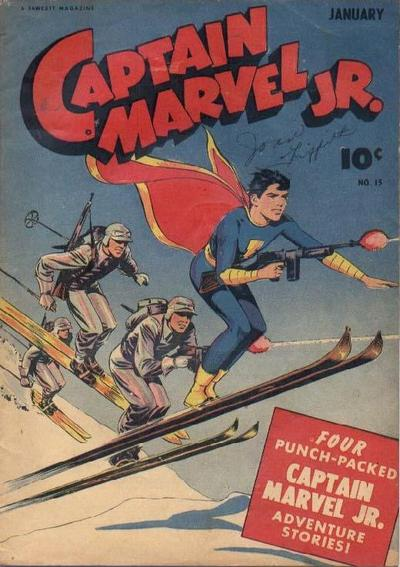 Cover for Captain Marvel Jr. (Fawcett, 1942 series) #15