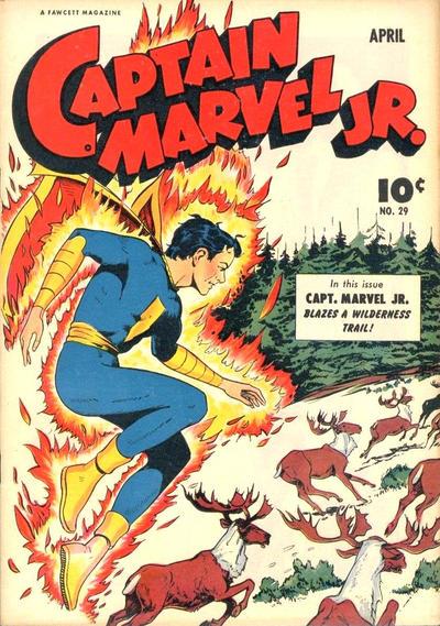 Cover for Captain Marvel Jr. (Fawcett, 1942 series) #29