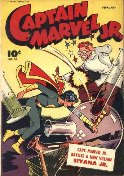 Cover for Captain Marvel Jr. (Fawcett, 1942 series) #34 (35)
