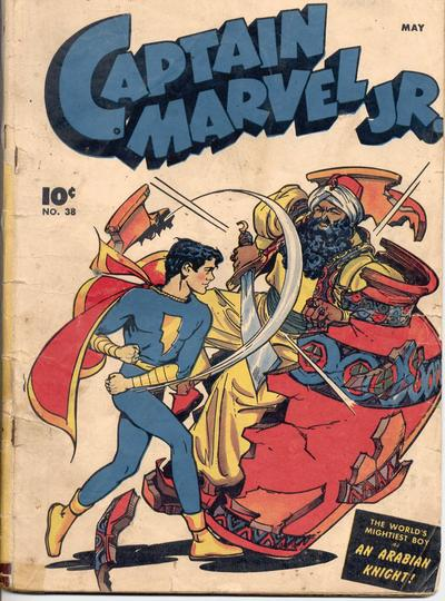 Cover for Captain Marvel Jr. (Fawcett, 1942 series) #38