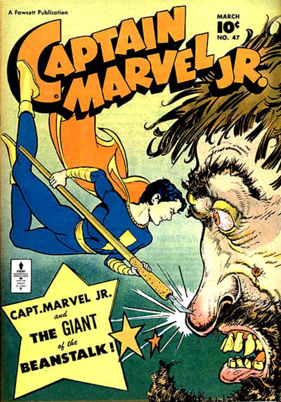 Cover for Captain Marvel Jr. (Fawcett, 1942 series) #47