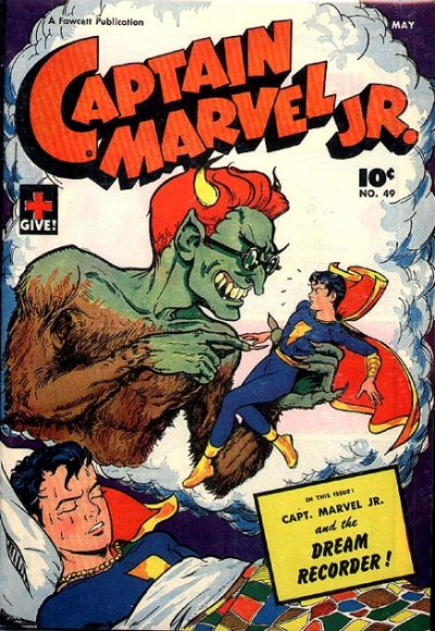 Cover for Captain Marvel Jr. (Fawcett, 1942 series) #49