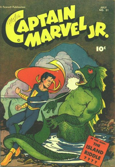 Cover for Captain Marvel Jr. (Fawcett, 1942 series) #51
