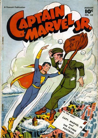 Cover for Captain Marvel Jr. (Fawcett, 1942 series) #52