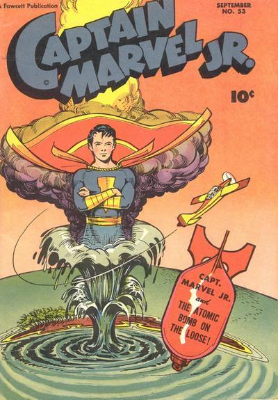 Cover for Captain Marvel Jr. (Fawcett, 1942 series) #53