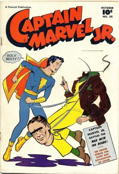 Cover for Captain Marvel Jr. (Fawcett, 1942 series) #54