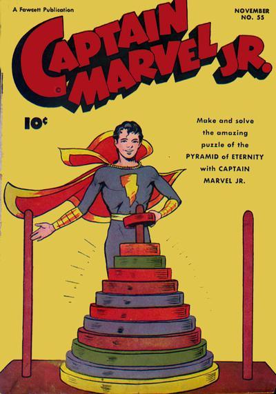 Cover for Captain Marvel Jr. (Fawcett, 1942 series) #55