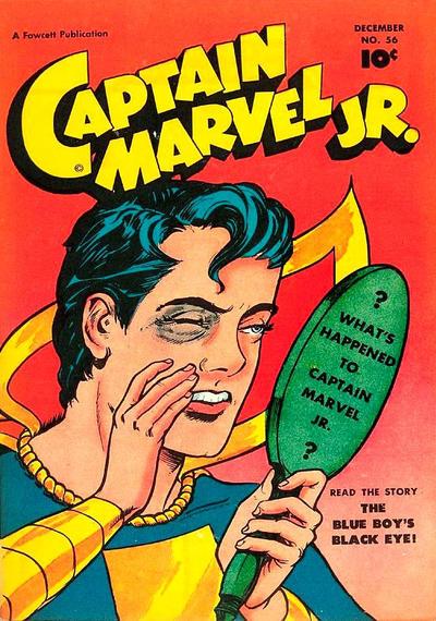 Cover for Captain Marvel Jr. (Fawcett, 1942 series) #56