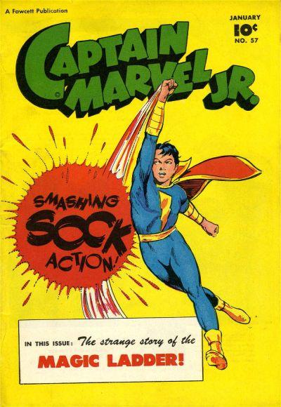 Cover for Captain Marvel Jr. (Fawcett, 1942 series) #57