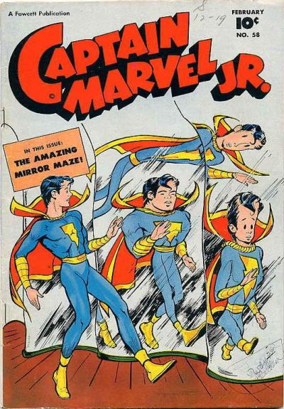 Cover for Captain Marvel Jr. (Fawcett, 1942 series) #58