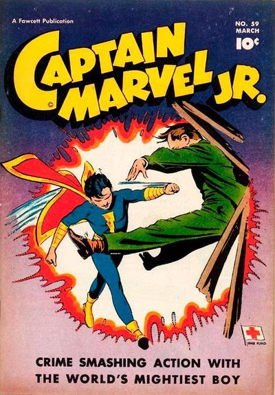 Cover for Captain Marvel Jr. (Fawcett, 1942 series) #59