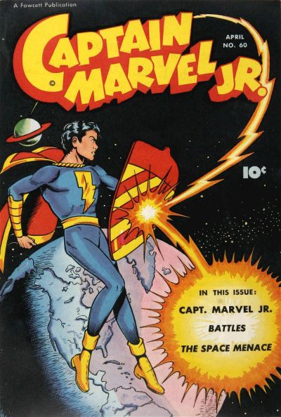 Cover for Captain Marvel Jr. (Fawcett, 1942 series) #60